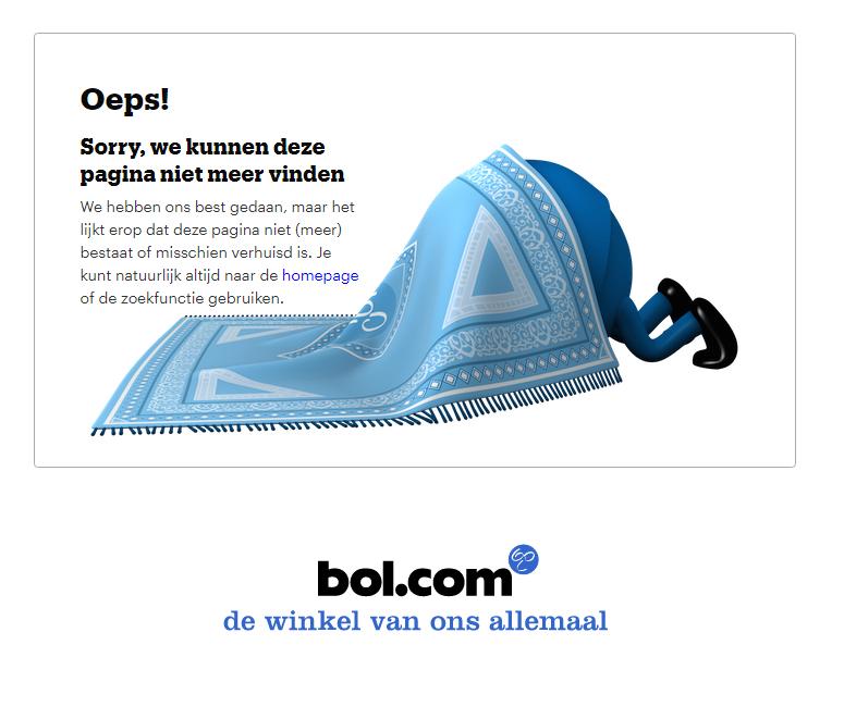 bol 404 pagina