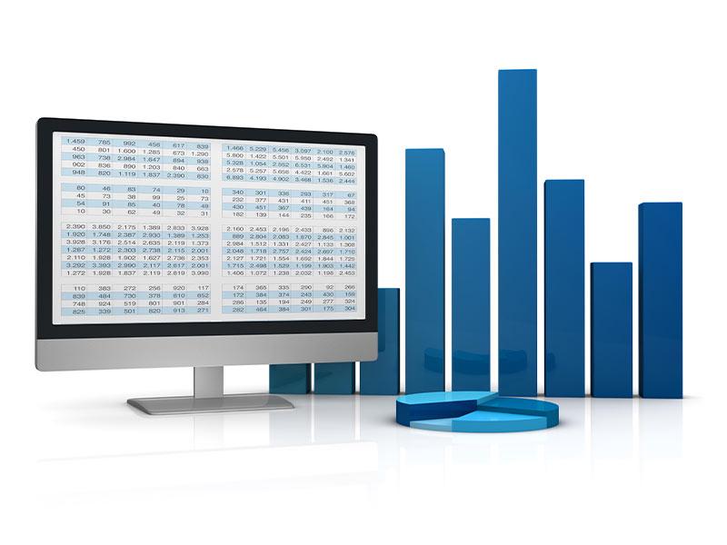 kpi visualisation via excel - Marketing Spectrum
