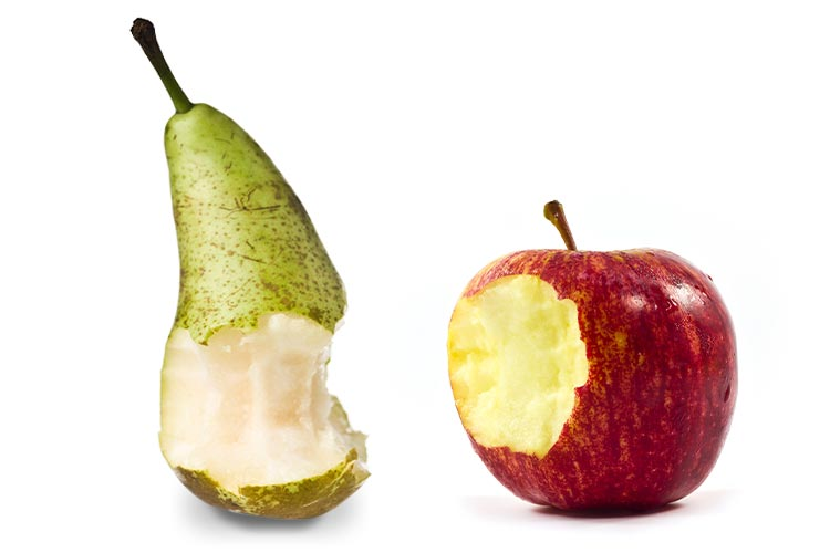 Apple and peer bitten to show you need SEO and website optimization
