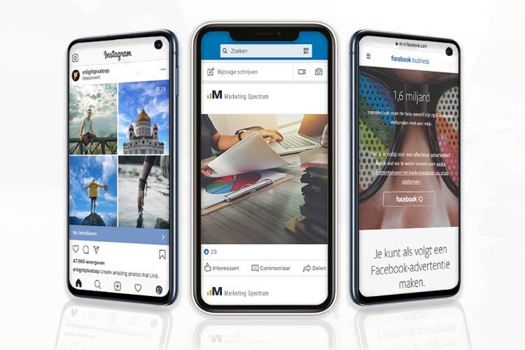 phones with online advertising platforms