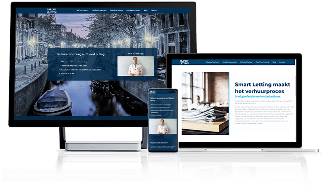 Website Smartletting created by Marketing Spectrum updated